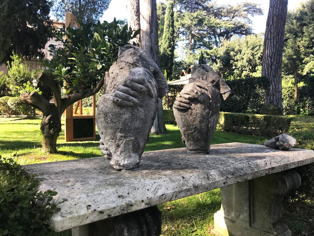 Internal Objects 1 & 2, Part Object 1, 2018 The Villa Lontana Rome
